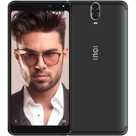 Фото недорогого российского смартфона с большим экраном INOI 7 Lite