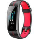 Fitness Bracelet INOI Band Black and Red